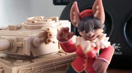 """Figurine Project: """"Kona"""""""